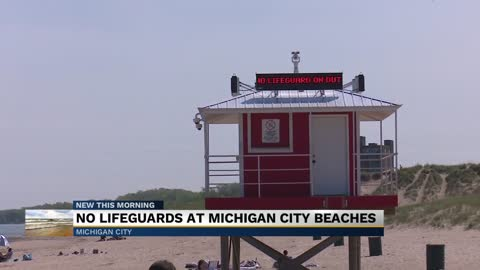 Beachgoers angry as Michigan City declines to provide lifeguards